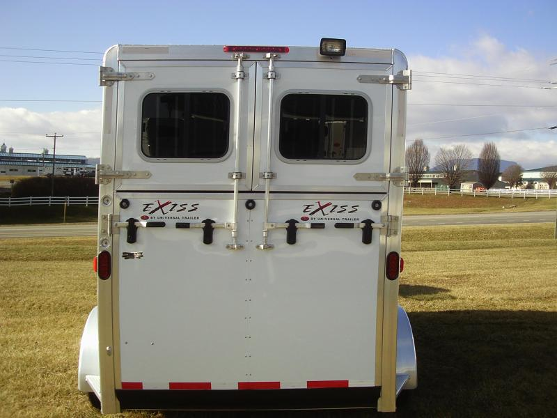 Clearance 2015 Exiss 2H ST BP DR Horse Trailer