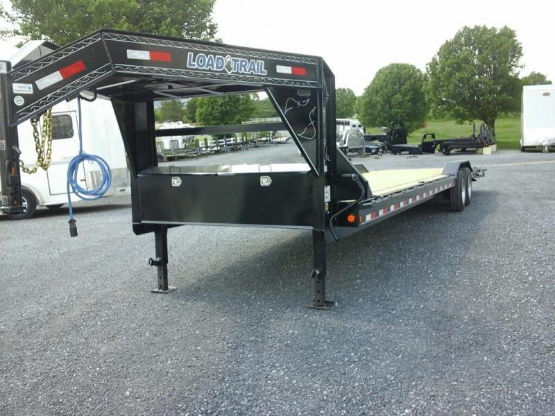2019 Load Trail 102 x 34 TA GN Carhauler Equipment Trailer