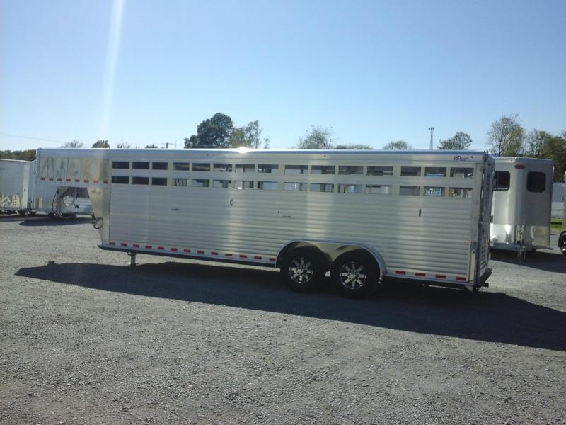 2018 Barrett Trailers GN 24ft Livestock Trailer
