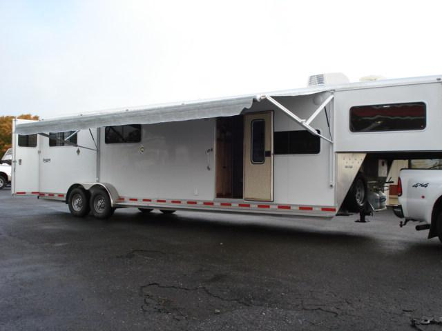 2008 Shadow Trailers GN 4H SL LQ Horse Trailer in  VA