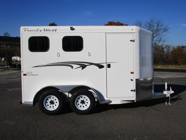 2020 Trails West Manufacturing 2H Adventure II MX Horse Trailer