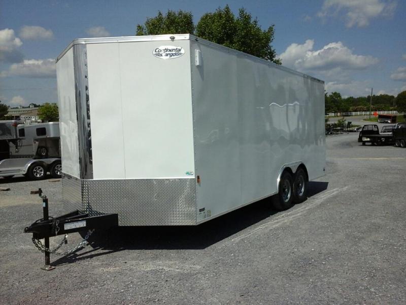 2020 Continental Cargo 8.5x20 TA Enclosed Cargo Trailer