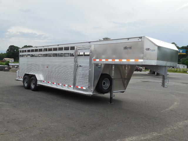 Clearance 2017 Barrett Trailers 24ft Livestock Trailer