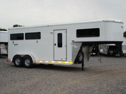 2007 Shadow Trailers 3H SL w/Dress Horse Trailer