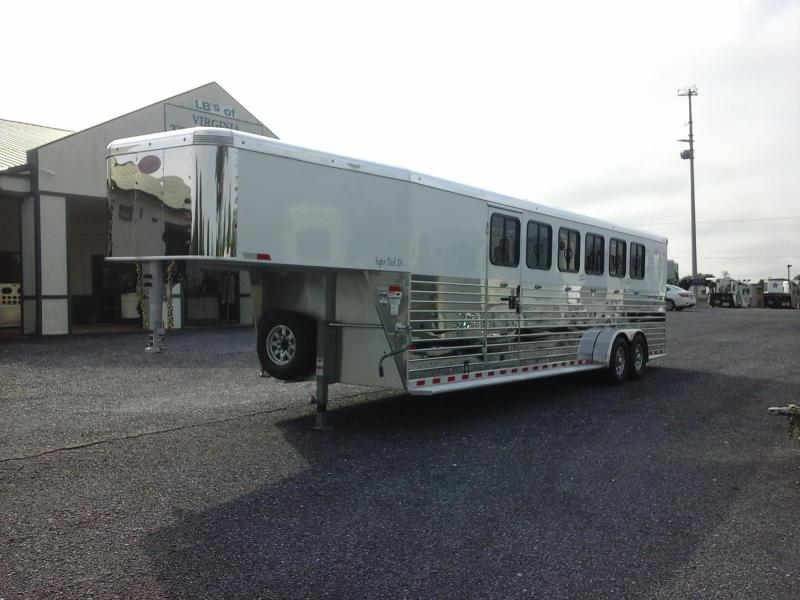 2019 Sundowner Trailers 6H SL Super Tack Horse Trailer