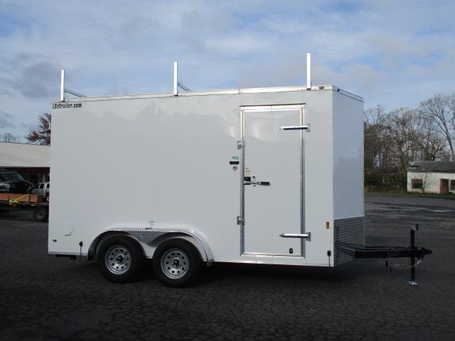2018 Continental Cargo 7 x 14 TA Enclosed Trailer