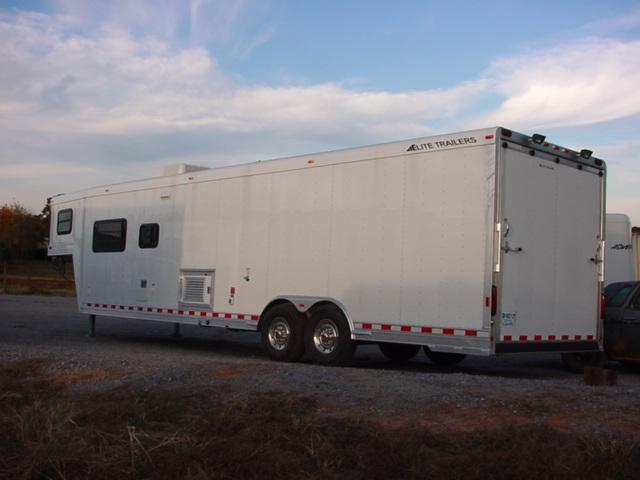 Clearance 2005 Elite Trailers 30ft Carhauler with Outlaw LQ Car / Racing Trailer