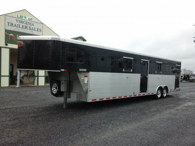 2018 Sundowner Trailers 5H HD-HD Transporter RT Horse Trailer