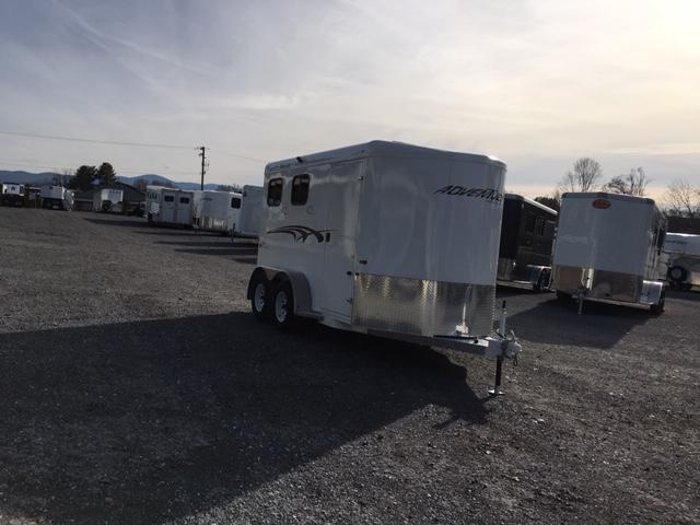 2020 Trails West Manufacturing Adventure MXII- 2H BP Horse Trailer