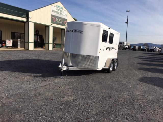 2020 Trails West Manufacturing Adventure MXII- 2H BP Horse Trailer