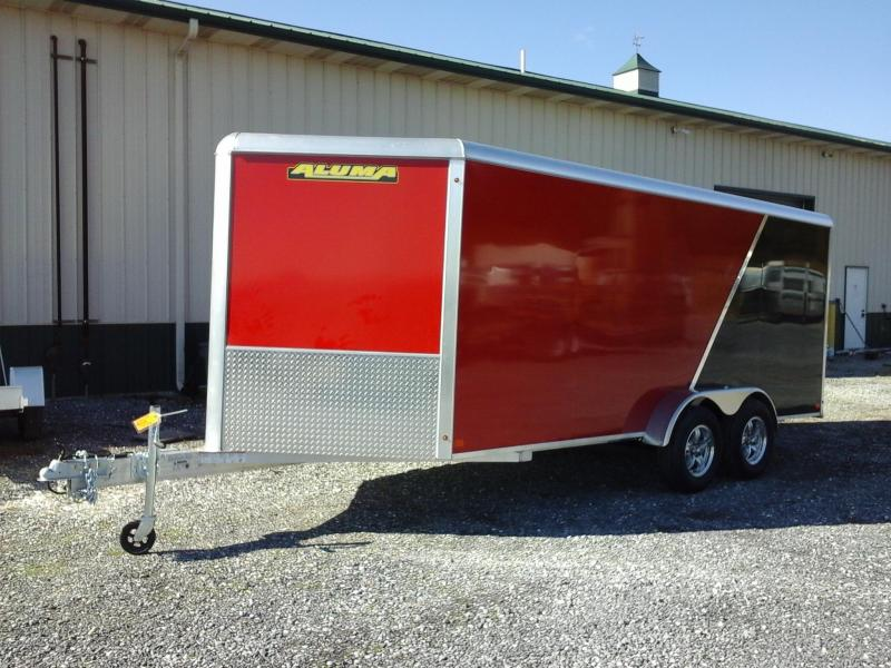 2019 Aluma AE716 TA Enclosed Cargo Trailer