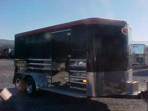 2003 Sundowner Trailers 16ft  Motorcycle Trailer