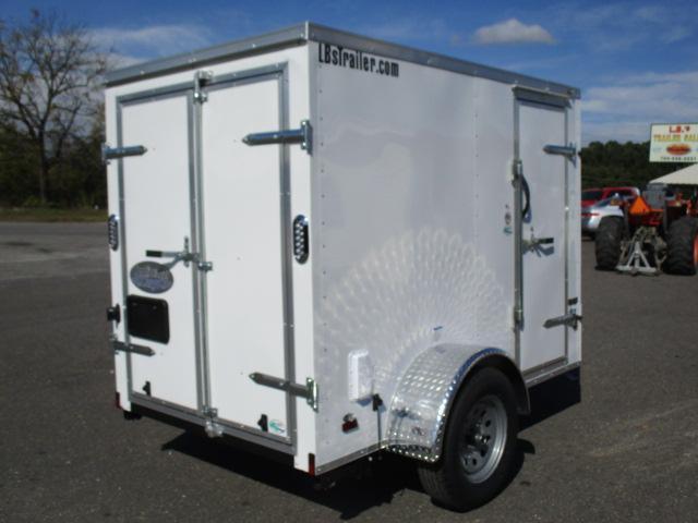 2020 Continental Cargo 5 x 8 Enclosed Cargo Trailer