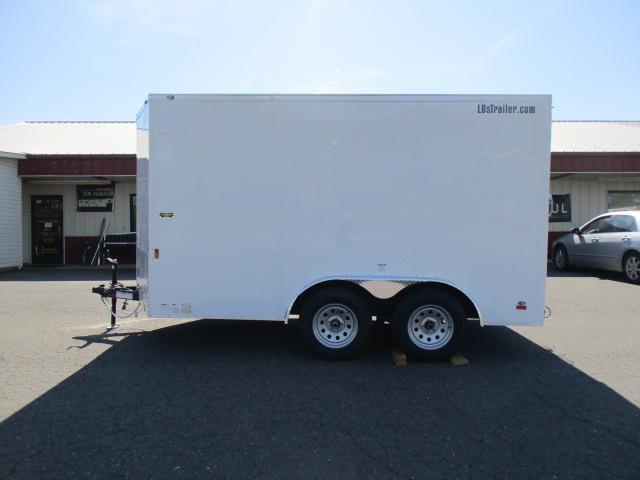 2021 Continental Cargo 7.5 X 12TA2 Enclosed Cargo Trailer