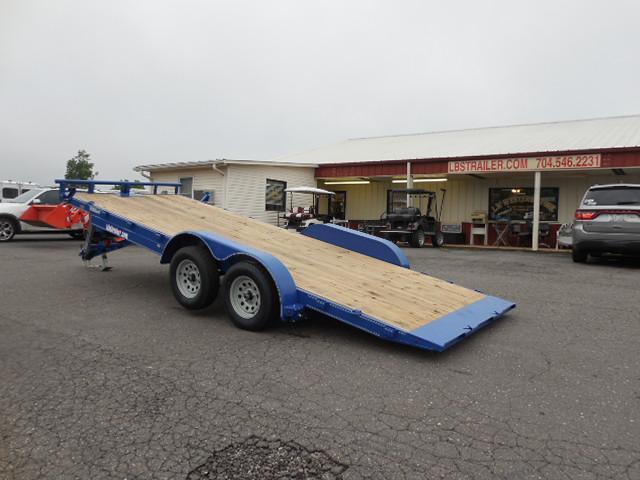 2017 Load Trail 83 x 20 Manual Tilt Deck Car / Racing Trailer