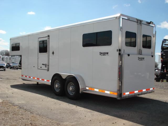 2008 Shadow Trailers 2 + 1 w/Dress Horse Trailer