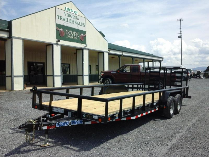 2017 Load Trail 83 x 22 TA Carhauler W/ 5' Channel Frame & Side Rails