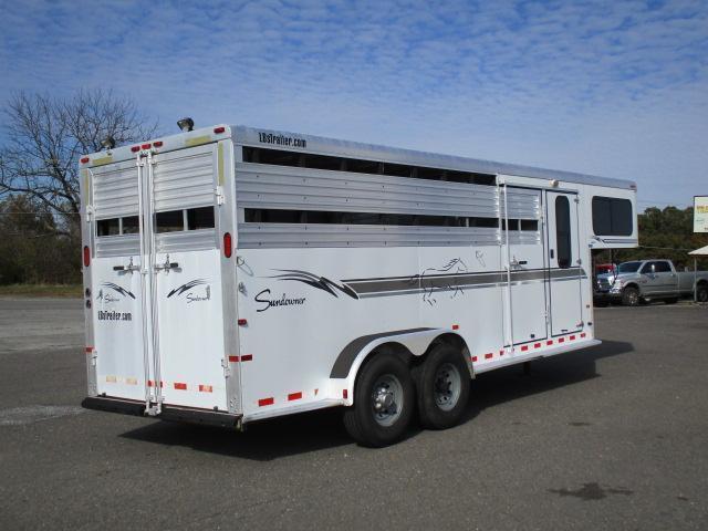 2002 Sundowner Trailers 20ft Stampede Livestock Trailer