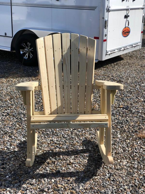 Adirondack Rocking Chair