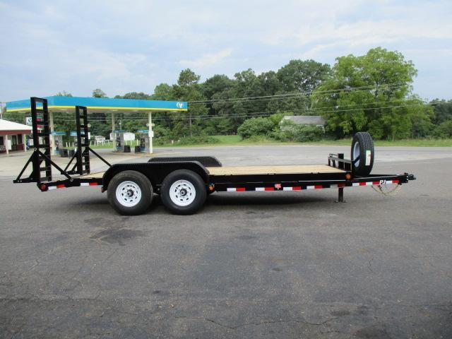 2020 PJ Trailers 18 X 6 Channel Equipment Trailer