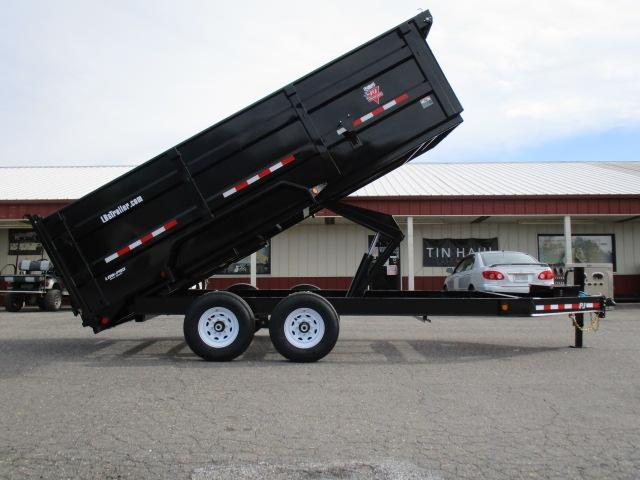 2020 PJ Trailers 16 x 83 Low Pro High Side Dump Trailer