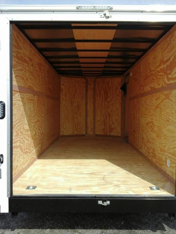 7x16 TA Continental Cargo Trailer