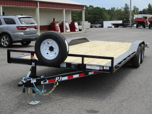 2020 PJ Trailers 22ft Channel Buggy Hauler Car / Racing Trailer