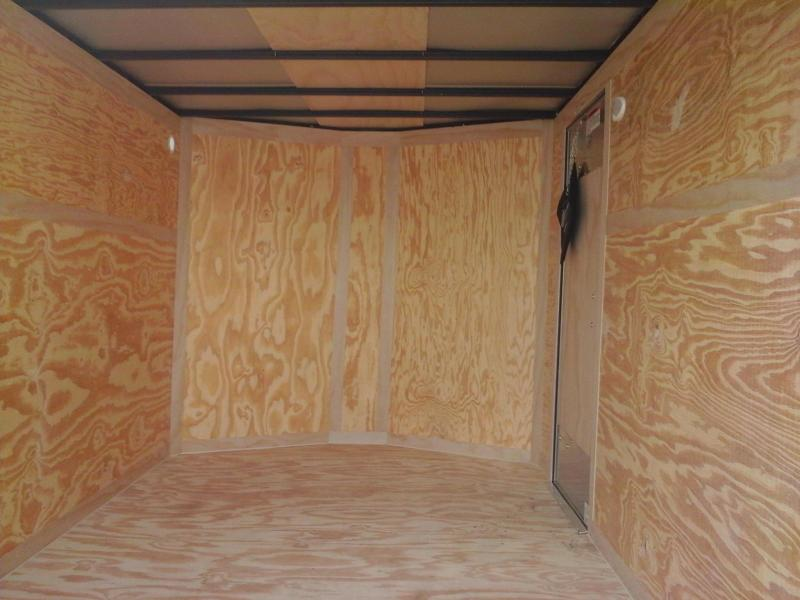 2019 Forest River Inc. 7x12 Continental Enclosed Cargo Trailer
