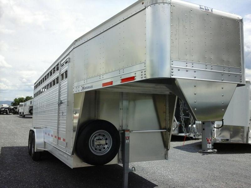 2020 EBY 20ft Maverick Livestock Trailer