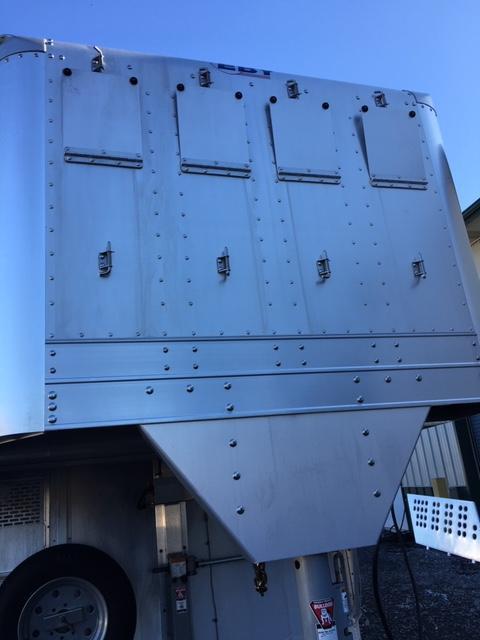 2018 EBY Ruffneck Double Deck Livestock Trailer