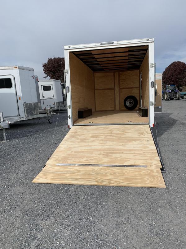 2020 Continental Cargo 8X16 TA Enclosed Cargo Trailer