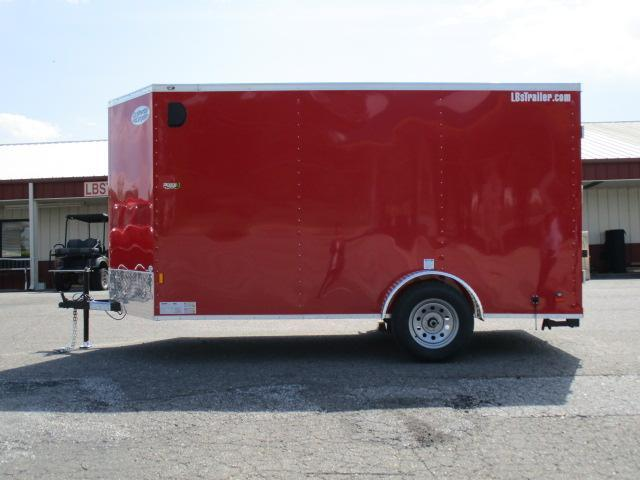 2020 Continental Cargo 6 x 12 Enclosed Cargo Trailer