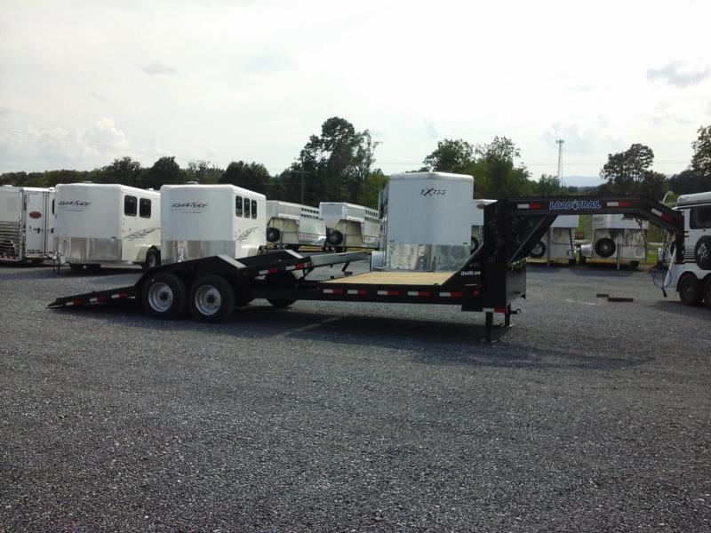 2019 Load Trail 102x24 TA Gravity Tilt Deck Equipment Trailer
