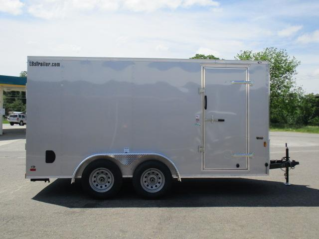 2020 Continental Cargo 7 x 14 Enclosed Cargo Trailer