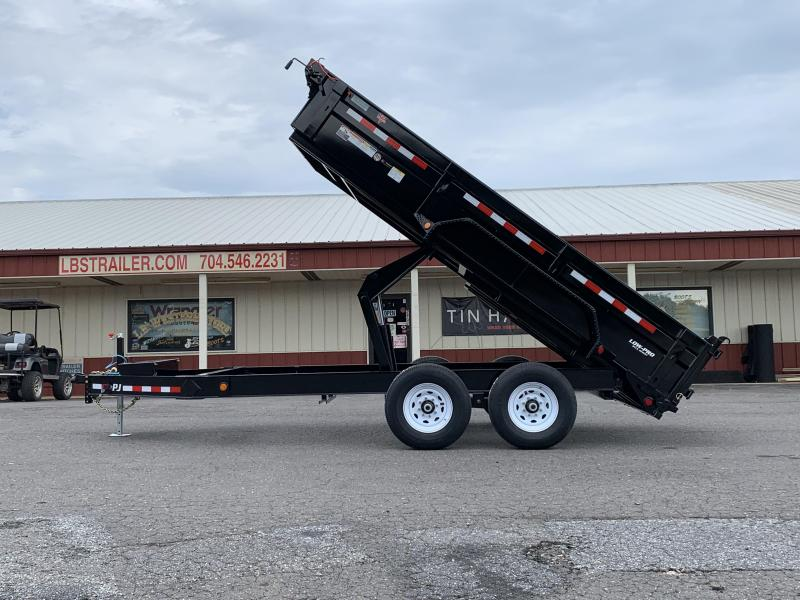 2020 PJ Trailers 14 x 83 Low Pro Dump Trailer