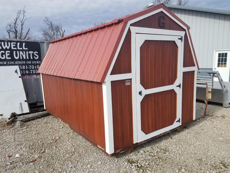 2018 Graceland Portable Buildings 8X12 Barn