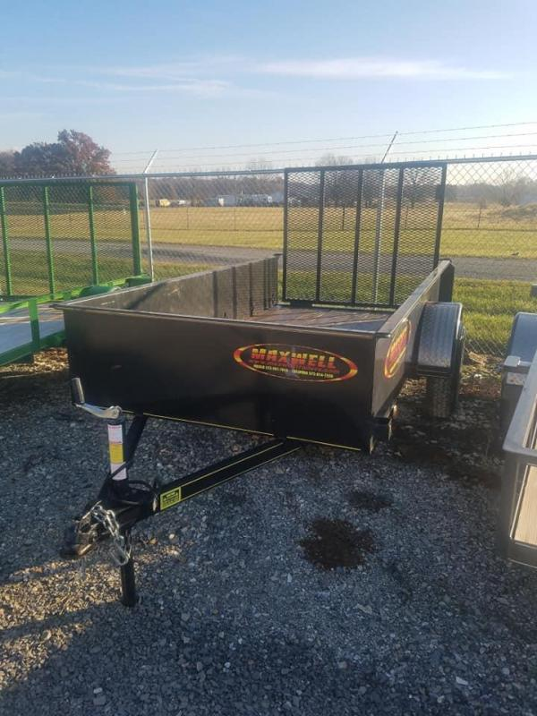 2017 Maxwell SA Solid Side Utility Trailer
