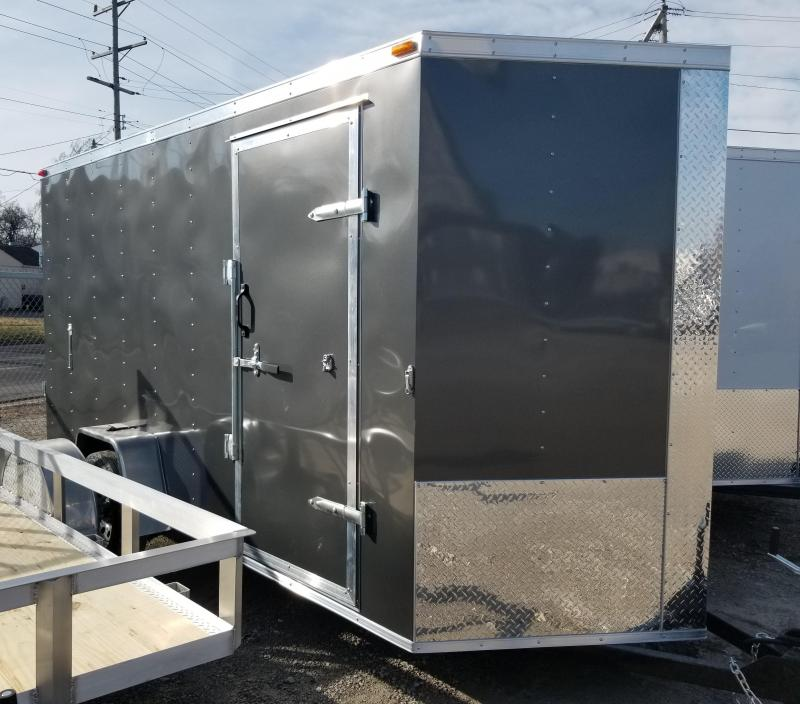 2020 Maxwell ProStar Windbreaker Enclosed Cargo Trailer