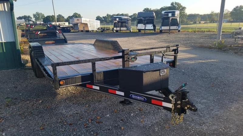 2020 Delco Trailers 14K Tilt Equipment Trailer