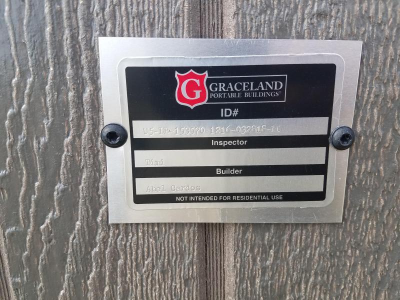 2018 Graceland Portable Buildings 12X16 Lofted Barn