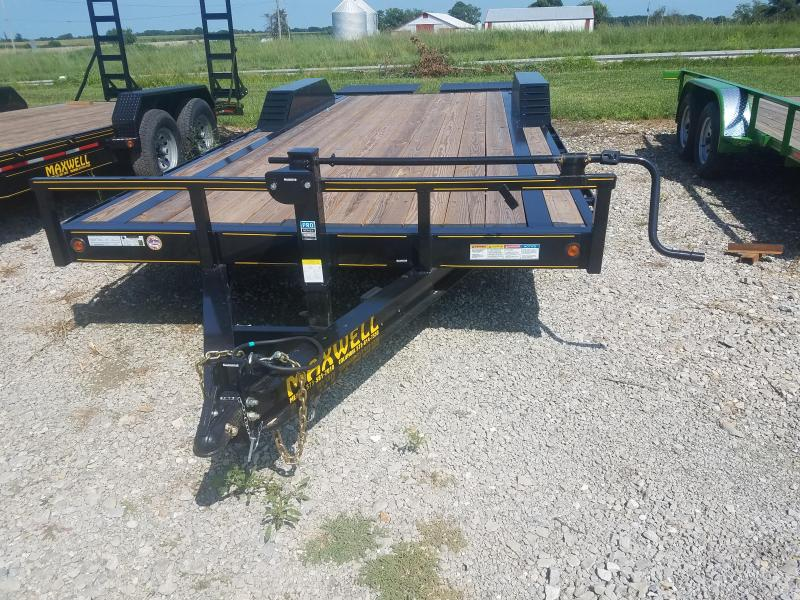 "2019 Maxwell 102""X22' Flatbed Equipment Trailer"
