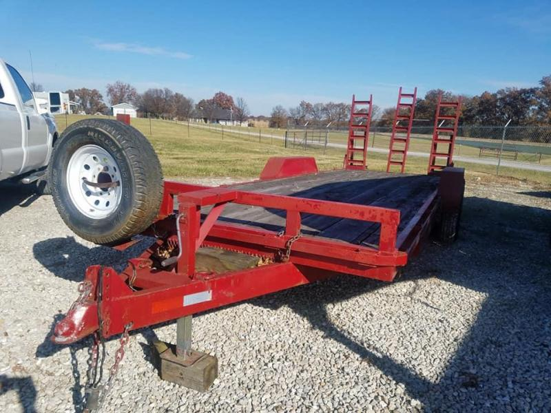 2001 Rice flatbed Equipment Trailer