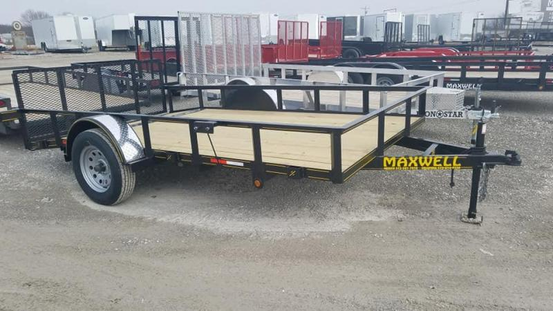 2020 Maxwell Railed Utility Utility Trailer