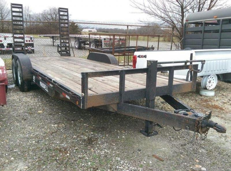 2000 Maxwell Deluxe Skidsteer Equipment Trailer