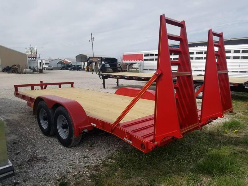 New 2018 Maxwell 83.5 x 18 Flatbed Trailer - STOLEN!