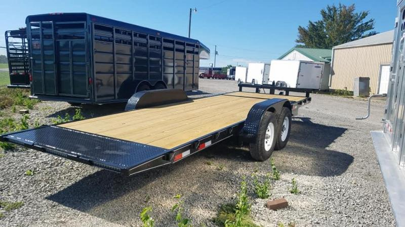 Tilt Car Hauler/ Equipment Trailer