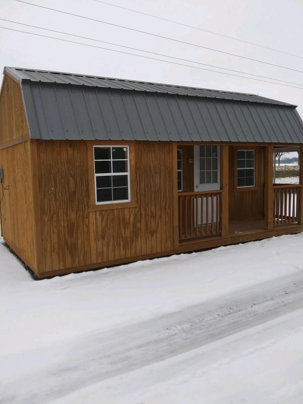 2016 Graceland Portable Buildings 12X20 Lofted Cabin