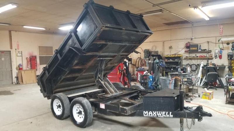 2014 Maxwell Bumper Pull Dump Dump Trailer