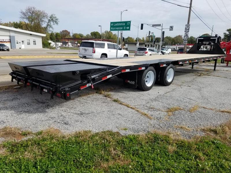 2020 Delco Trailers Flatbed Equipment Trailer