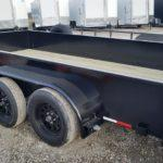 New 2019 Maxwell 83 x 14 TA Solid Side Utility Trailer